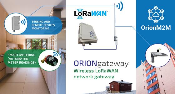 OrionM2M LoRaWAN Gateway