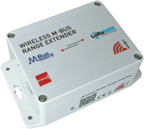 Wireless M-Bus Range Extender (with LoRaWAN®)