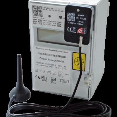 iOKE868 LoRaWAN® optical reading head kit with smart meter